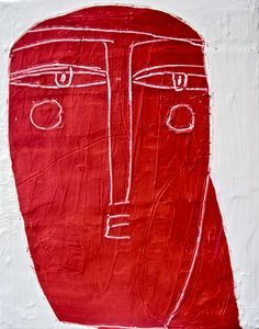 "Philippe Lareau-Vaillancourt ""Visage rouge"" www.philippelareauvaillancourt.com"