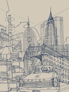 NY  Illustration by David Bushell