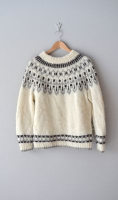 1960s fair isle sweater - wish now I had kept the ones I knitted!