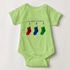 Merry Christmas/n Baby Bodysuit - New Year's Eve happy new year designs party celebration Saint Sylvester's Day
