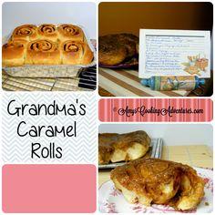 Amy's Cooking Adventures: Grandma's Caramel Rolls