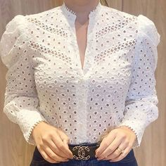 Tops for women – Lady Dress Designs Kurta Designs, Blouse Designs, Bluse Outfit, Dress Sewing Patterns, Woman Outfits, Blouse Dress, Mode Outfits, Blouse Styles, Lace Tops