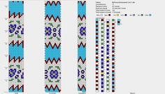 "Photo from album ""Цветочки-ягодки"" on Yandex. Crochet Bedspread Pattern, Bead Crochet Patterns, Bead Crochet Rope, Granny Square Crochet Pattern, Crochet Bracelet, Peyote Patterns, Crochet Designs, Beading Patterns, Beaded Crochet"