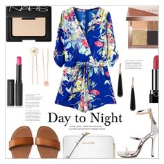 """""""Day to Night Romper"""" by mycherryblossom ❤ liked on Polyvore featuring Bobbi Brown Cosmetics, NARS Cosmetics, Michael Kors, Aéropostale, Le Métier de Beauté, Marc Jacobs, Accessorize and SUSAN FOSTER"""