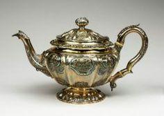 Teapot JOHN EDWARD TERREY (ENGLISH, ENTERED 1816–UNKNOWN) 1827-1828