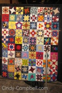 Cindy-Campbell.com » Blog Archive » 28 Quilts & Astronomical Block Challenge with Karen Nyberg