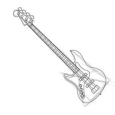 How to Draw a Bass Guitar: 8 Steps - wikiHow