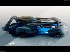 Renault Alpine Vision Gran Turismo Concept 2015 | Exterior Sketch