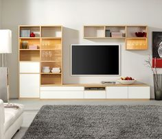Media wall units bespoke media wall units image 5 medium sized s p a c e s modern tv wall unit with fireplace Media Wall Unit, Media Storage Unit, Tv Wall Units, Floating Entertainment Unit, Entertainment Center, Deco Marine, Muebles Living, Tv Unit Design, Media Design