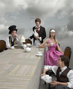 Alice in Wonderland / karen cox.  Geof Kern
