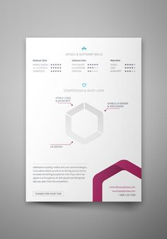 Here's a freebie InDesign document of resume template. Hope you like it!