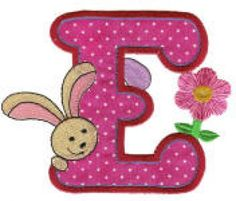 Easter Alphabet Applique Machine Embroidery Font | Designs by JuJu