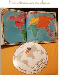 Documents modifiables Word X pour réaliser votre propre Me and the Map, de l'école au système solaire ! (Découpages géographiques français)