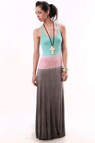 Water Crest Maxi Dress - Maxi Dresses at Pinkice.com