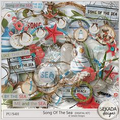 Personal Use :: Kits :: Song Of The Sea - Full Kit Save 40% off