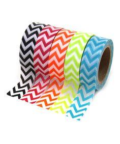Look at this #zulilyfind! Zigzag Tape Set #zulilyfinds