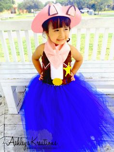 $67.99 Sheriff Callie tulle tutu dress up birthday party fashion https://www.etsy.com/listing/242584808/sheriff-callie-tutu-dress