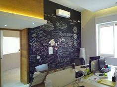 parete lavagna : Decorazioni per pareti di architè