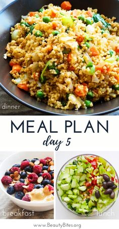 Start the clean eating challenge, enjoy these healthy recipes to have more energy, lose weight and feel better overall! The plan includes clean eating recipes for breakfast, lunch and din Clean Eating Challenge, Clean Eating Meal Plan, Whole Food Recipes, Dinner Recipes, Healthy Recipes, Keto Recipes, Healthy Meal Prep, Healthy Eating, Healthy Meals For One