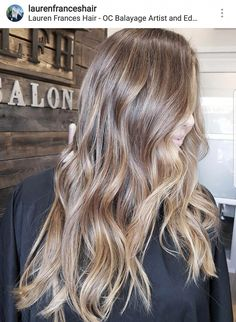 Dirty blonde balayage – – - All For Hair Cutes Brown Hair Dyed Blonde, Blond Beige, Balayage Hair Brunette Long, Balayage Hair Copper, Balayage Hair Caramel, Blonde Curly Hair, Hair Color Balayage, Dyed Hair, Bronde Hair