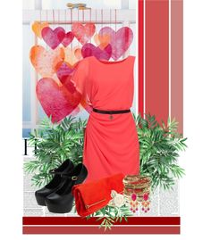 """""""red hearts."""" by xadamsqueen ❤ liked on Polyvore"""