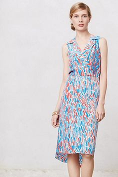 #BrushstrokesMidiDress #TracyReese #MadeInKind #Anthropologie