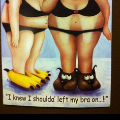 This was hanging up @ the Tanning Salon outside the airbrush room. I just had to share, it's too funny!!!