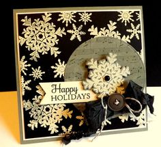 Happy Holidays by DJRants - Cards and Paper Crafts at Splitcoaststampers