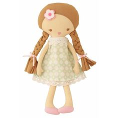 For the sweetest little girl: the Rosie Doll by Alimrose