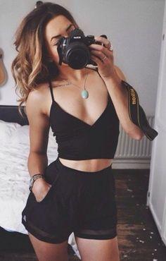 Best Teen Fashion Part 31 Look Fashion, Teen Fashion, Fashion Outfits, Womens Fashion, Fashion Trends, Fashion Black, Fashion Edgy, Hipster Fashion, Fashion Heels
