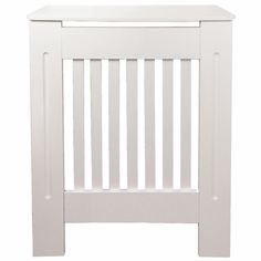 Belfry Bathroom Remie Horizontal Column Radiator Cover & Reviews | Wayfair.co.uk Black Radiators, Column Radiators, Small Hallways, Grill Design, Home Safes, Wall Brackets, White Paints