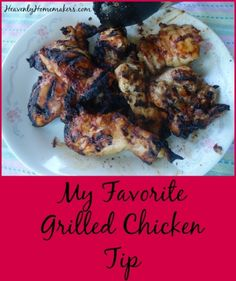 This is the simplest and best grilled chicken there is. THIS is what real food tastes like! Cooking Boneless Chicken Thighs, Grilled Chicken Thighs, Boneless Chicken Breast, Veggie Side Dishes, Main Dishes, Real Food Recipes, Chicken Recipes, Turkey Recipes, Fussy Eaters