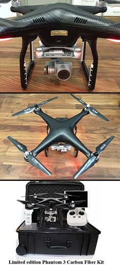 DJI Phantom 3 Professional Limited edition Carbon Fiber Bundle Kit