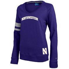 Northwestern University Women's V-neck Sweater.