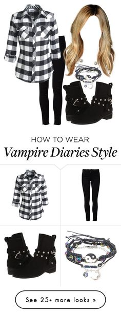 """""""The Vampire Diaries: Malia Gilbert [3x5]"""" by grandmasfood on Polyvore featuring Frame Denim, Aéropostale and See by Chloé"""