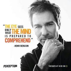 Perception- he is a beautiful man