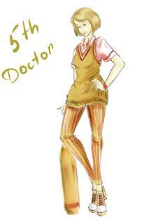DW Fashion: The 5th Doctor #1 by Miss-Alex-Aphey.deviantart.com on @deviantART