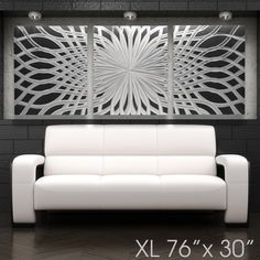 """Grand Finale"" 68""x24"" Large Modern Abstract Metal Wall Art Sculpture Painting - DV8 Studio"