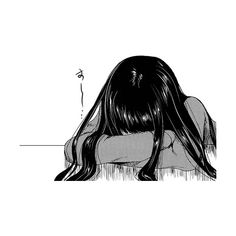 Tumblr ❤ liked on Polyvore featuring anime, manga, filler, art, drawings, doodle and scribble