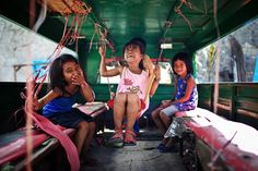 """""""The kids were so curious about my camera. They wanted to be the centre of it as they played in the jeepney and laughed."""" Picture: Ming Hui Guan (Mac Kwan) / 2013 Sony World Photography Awards Photography Competitions, Photography Contests, World Photography, Photography Awards, Photography Styles, Wedding Photography, Bbc, National Geographic, Somerset"""