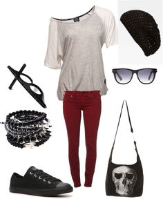 """Rocker casual"" by jenlindquist31 on Polyvore"