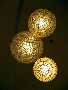 1000 Images About Capiz Shell Lighting On Pinterest