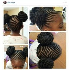 Pin by Donna Marshall on Kids Natural Styles | Pinterest | Cornrows ...