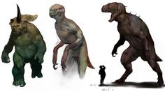 《侏羅紀公園4》不被採用的設定稿!什麼原因被打槍的? - A-MOre聯想貼A-MOre聯想貼