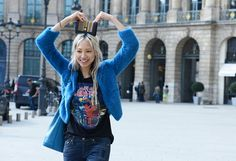#SooJoo you cruiser. went and joined the weird trip. fab. #SooJooPark #offduty in Paris.