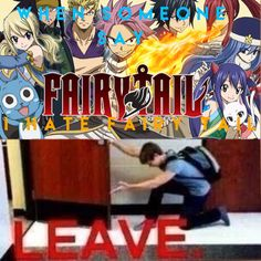 I made this myself. If you hate Fairy tail? GET THE FUCK  OUT