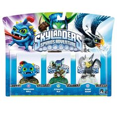 "Skylanders Spyro's Adventure Character 3-Pack - Wrecking Ball/Stealth Elf/Sonic Boom - Activision - Toys ""R"" Us"
