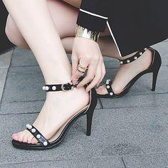 Pumps, High Heels Stilettos, Pump Shoes, Shoes Sandals, Flats, Super High Heels, Ankle Strap Shoes, Stiletto Shoes, Evening Shoes