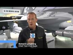 Saab's Chief Test Pilot Richard Ljungberg speaks to IHS Jane's about Saab's new Gripen E variant - YouTube