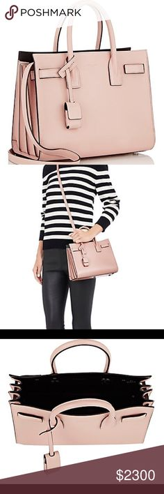 9293d950cb46 Saint Laurent Baby Sac de Jour Pink I just got this as a birthday gift and  debating on whether or not I should keep it as I already have a similar bag.